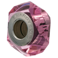 Swarovski Crystal 5929 BeCharmed Fortune Bead 14mm Rose (1-Pc)