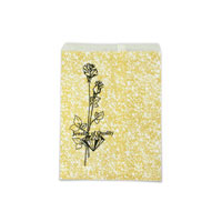 Jewelry Gift Bags Gold Print 5x7 (100-Pcs)