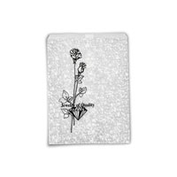 Jewelry Gift Bags Silver Print 5x7 (100-Pcs)