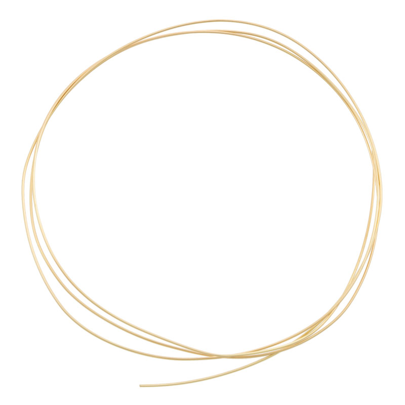 14k Yellow Gold Wire - Round 20 Gauge