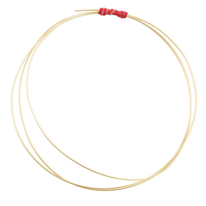 14k Yellow Gold Wire Round 22 Gauge