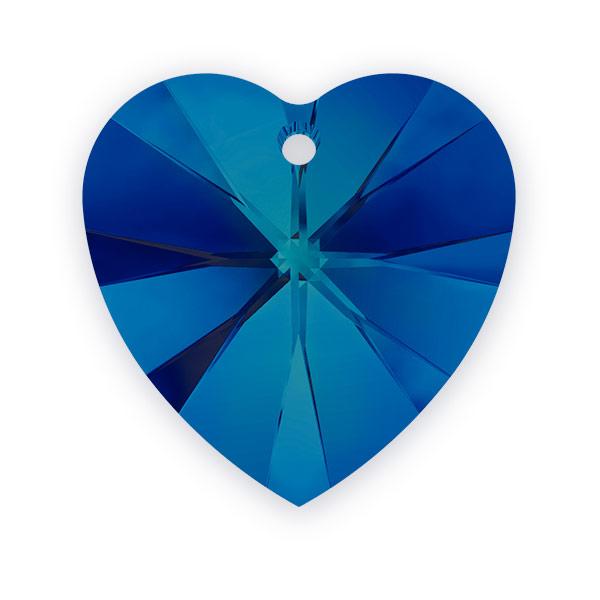 Swarovski Crystal Heart Pendant 6228