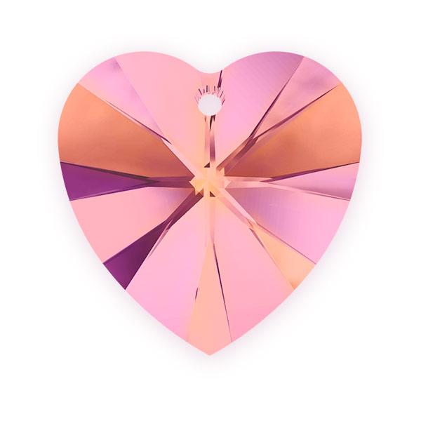 All swarovski elements 50 off crystal heart pendant swarovski swarovski crystal heart pendant 6228 14mm crystal astral pink aloadofball Images