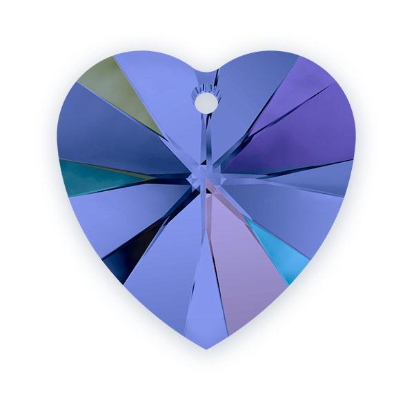 Swarovski crystal heart pendant 6228 10mm sapphire ab large swarovski crystal heart pendant 6228 10mm sapphire ab aloadofball Images