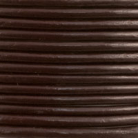 Leather Cord Brown 1mm (25 Yards)