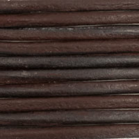 Leather Cord Brown 2mm (25 Yard Spool)