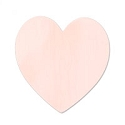 Copper Large Heart 24 Gauge Blank 1 3/8