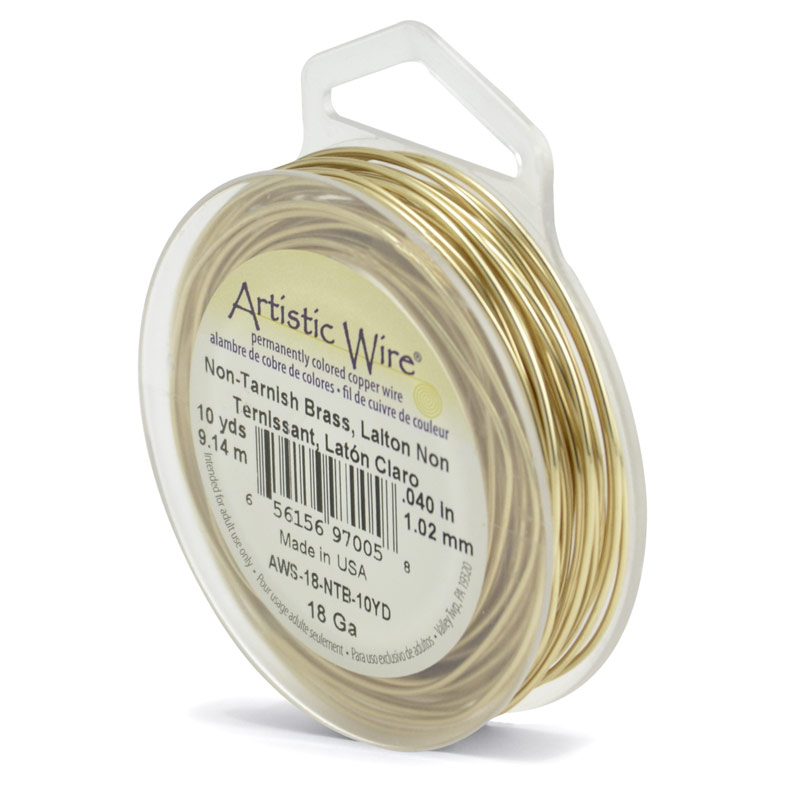 Artistic Wire | Non Tarnish Artistic Brass Wire For Beading And ...