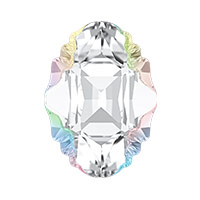 Swarovski 4926 Oval Tribe Fancy Stone 19x14mm Crystal AB (1-Pc)