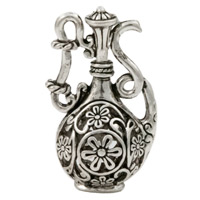 36x21mm Pewter Water Pitcher Pendant (1-Pc)