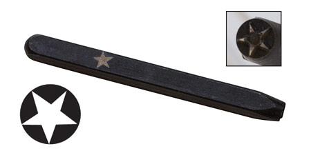 Elite Design 5mm Stamp Solid Star