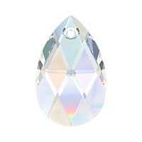 Swarovski 6106 22mm Crystal AB Pear Shape Pendant (1-Pc)