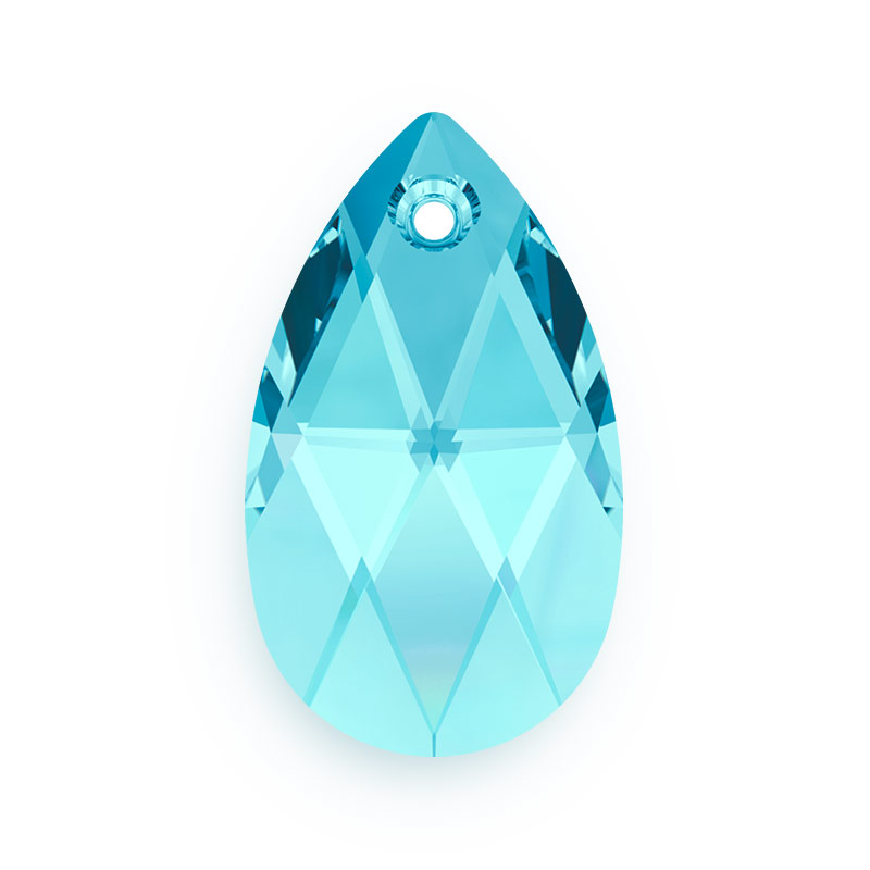 6f1ad06b1 All Swarovski Elements 50% Off - Crystal Crystal Pear Pendant | Swarovski  Crystal Pear Shape Pendant 6106 22mm Aquamarine for Beading and Jewelry Maki