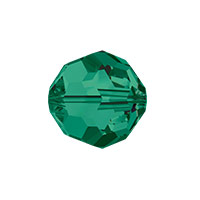 Swarovski Crystal 5000 10mm Emerald Round Bead (1-Pc)