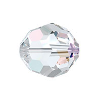 Swarovski 5000 12mm Crystal AB Round Bead (1-Pc)