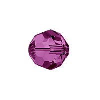 Swarovski Crystal 5000 8mm Amethyst Round Bead (1-Pc)