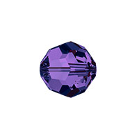 Swarovski Crystal 5000 8mm Purple Velvet Round Bead (1-Pc)