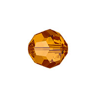 Swarovski 5000 8mm Crystal Copper Round Bead (1-Pc)