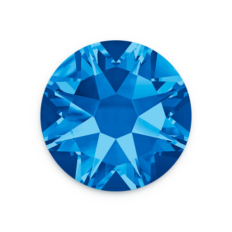 c57e477c0b96 Swarovski Crystals 2088 4mm (SS16) Sapphire Flat Back