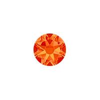 Swarovski 2088 6.5mm (SS30) Fire Opal Flat Back (5-Pcs)