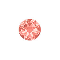 Swarovski 2088 7mm (SS34) Rose Peach Flat Back (5-Pcs)