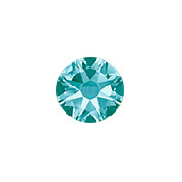 Swarovski 2088 7mm (SS34) Light Turquoise Flat Back (5-Pcs)