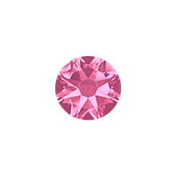 Swarovski 2088 7mm (SS34) Rose Flat Back (5-Pcs)