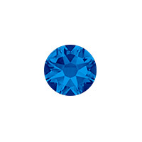Swarovski 2088 7mm (SS34) Capri Blue Flat Back (5-Pcs)