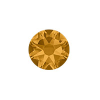 Swarovski 2088 8.5mm (SS40) Topaz Flat Back (1-Pc)