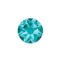 Swarovski 2088 8.5mm (SS40) Blue Zircon Flat Back (1-Pc)