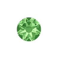Swarovski 2088 8.5mm (SS40) Peridot Flat Back (1-Pc)