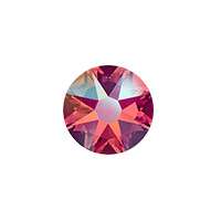 Swarovski 2088 8.5mm (SS40) Light Siam Shimmer Flat Back (1-Pc)