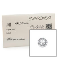 Swarovski 1088 4mm (PP32) Crystal Xirius Chatons (Factory Pack of 1,440)