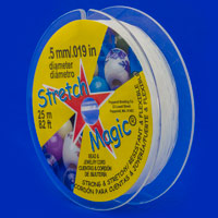 .5mm Clear Stretch Magic Bead Cord (25 Meters)