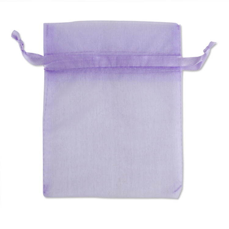 Set of 10 Lavender Sachets made with Fuchsia Organza Bags