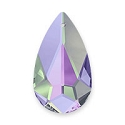 Swarovski Multi-Color Teardrop Pendant 6100 24x12mm Crystal Vitrail Light (1-Pc)