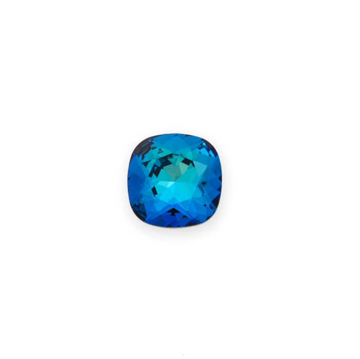 db0165a281 Swarovski 4470 12mm Crystal Bermuda Blue Cushion Cut Square Fancy Stone  (1-Pc)