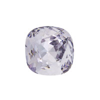 Swarovski Crystal 4470 12mm Smoky Mauve Cushion Cut Square Fancy Stone (1-Pc)
