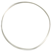 Sterling Silver Filled Wire Round Dead Soft 24ga (1-Ft)