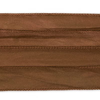 Fawn Brown Silky Ribbon (42 Inches)