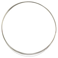 Sterling Silver Filled Wire Round Dead Soft 28ga (1-Ft)