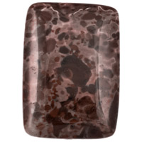 18x25mm Tiger Jasper Rectangle Pendant Bead (1-Pc)