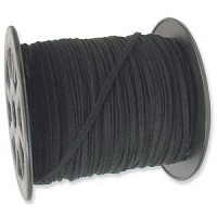 Ultra Micro Fiber Suede Cord Black 3mm (Priced Per Yard)
