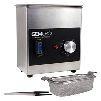 Commercial Ultrasonic Jewelry Cleaner with Heater (1.5 Pint)