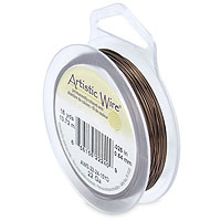 Artistic Wire 22ga Antique Brass (15 Yards)