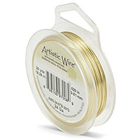 Artistic Wire 24ga Tarnish Resistant Brass (20 Yards)