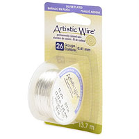 Artistic Wire 26ga Tarnish Resistant Silver (15 Yards)