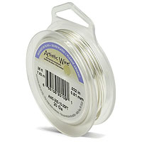 Artistic Wire 20ga Tarnish Resistant Silver (8 Yards)
