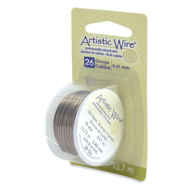 Artistic Wire 26 Gauge Antique Brass   jewelry wire   Buy in Bulk