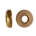 Flat Washer Bead 9x2.5mm Bright Copper Finish (5-Pcs)